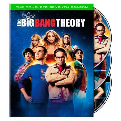 The Big Bang Theory: The Complete Seventh 7 7th Season DVD, 2014, 3-Disc Set NEW