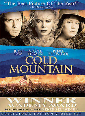 Cold Mountain (DVD, 2004, 2-Disc Set, Special Edition) NEW