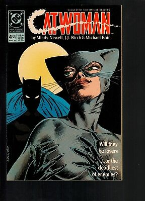Catwoman #4 NM- 9.2 DC High Grade 1989 Limited Series!!!