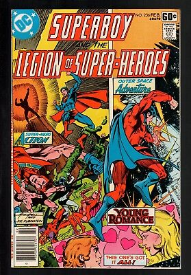 Superboy and The Legion of Super-Heroes #236 VF- 7.5 DC Bronze Age Giant 1976!!!