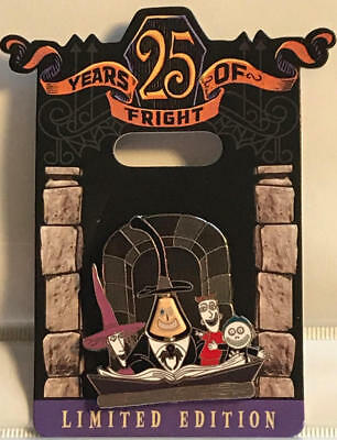 Nightmare Before Christmas  25 years of Fright  Mayor Pin  LE 4000  NEW