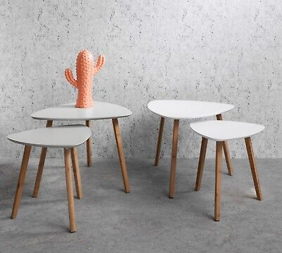 Nest of tables Nesting Occasional Side Table Console Scandinavian