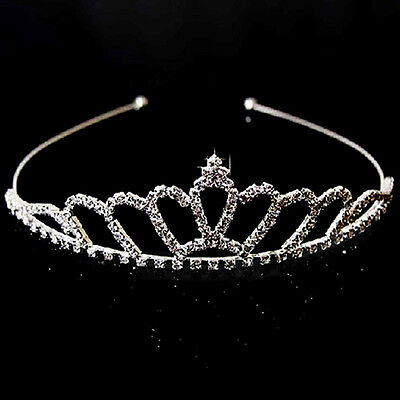 Wedding Bridal Bridesmaid Pageant Prom Princess Crystal Crown Tiara for Women