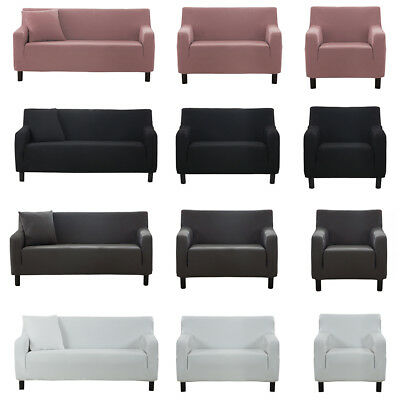EASY Stretch Couch Sofa Lounge Covers 1 2 3 4 Seater Dining Chair Cover AU STOCK