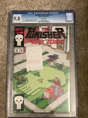 THE PUNISHER WAR ZONE #13 cgc 9.8 1993 Series