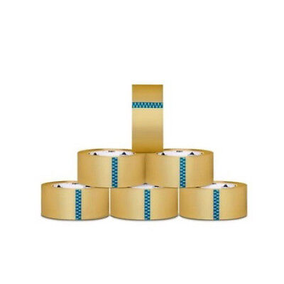 144 Rolls Clear Packing Tape Packaging Tape 3-inch x 110 Clear