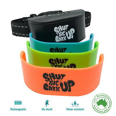 Bark Collar for S/M Dogs Rechargeable Anti Bark Training Device Stop Barking