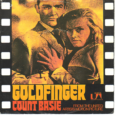 """7"" - COUNT BASIE - Goldfinger"