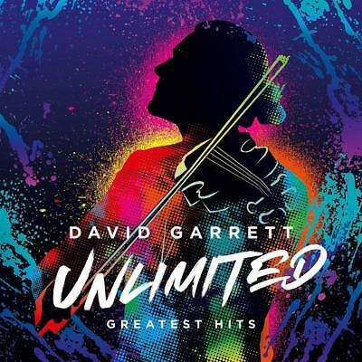 DAVID GARRETT  Unlimited  Greatest Hits   CD    NEU & OVP  26.10.2018