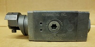 Kennametal Clamping Unit Km40-Clsr-1660D With Tool Holder