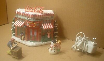 Bradford Exchange Coca-Cola Refreshing Memories Hawthorn Village Limited To 2500