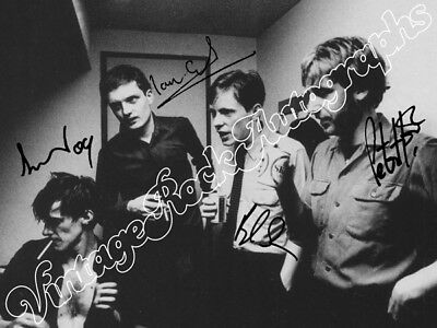 JOY DIVISION  - print signed photo - foto con autografo stampato