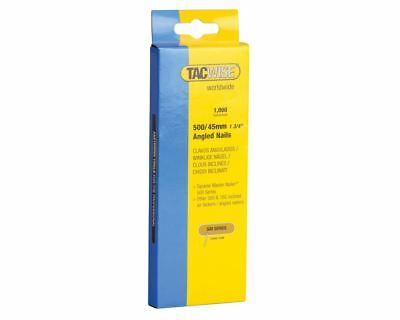 Tacwise 500 18 Gauge 45mm Angled Nails Pack 1000