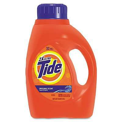 Tide Ultra Liquid Laundry Detergent, 50 ounces (Pack of 2)
