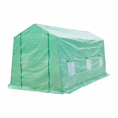 Outsunny 15 ft x 7 ft x 7 ft Portable Walk-In Garden Greenhouse