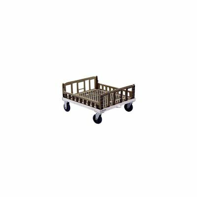 """New Age NS926 26-3/4 x 31-1/4"""" Crisping Basket Dolly with Casters"""