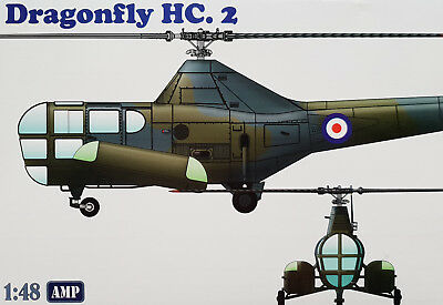 AMP 48003 Dragonfly HC.2 Helicopter in 1:48