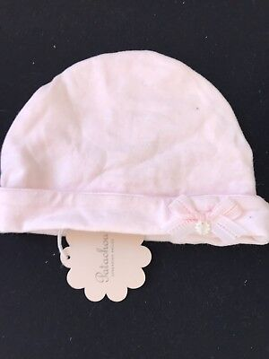 REDUCED!! PATACHOU baby Girl Pink Bonnet T2 12-18m Rrp £13.99