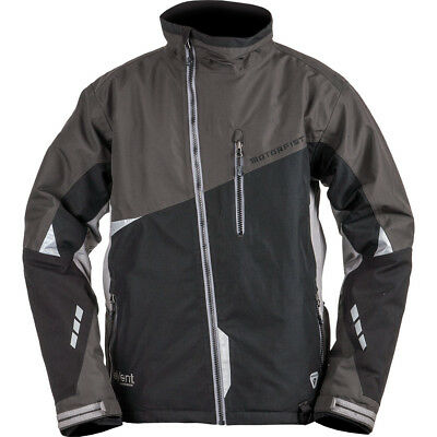 Motorfist - Redline Black/Stealth/Grey Men Insulated Jacket - Medium