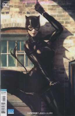 Catwoman #1 Stanly Lau Artgerm Variant Cover July 2018 Batman Wedding New