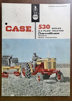 Case 530 Series Tractor Sales Pamphletfrom The 60's