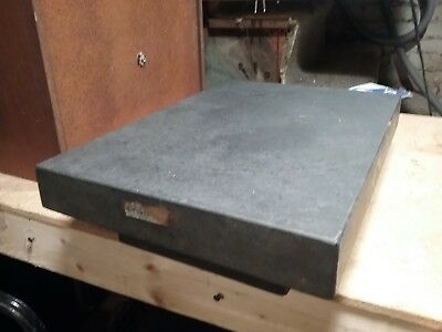 "Precision Granite Surface Plate 12"" by 18"" x 4"" Inspection Table"
