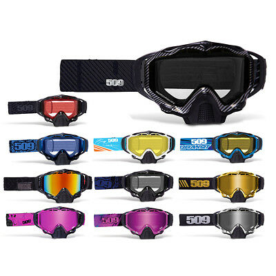 509 Sinister X5 Anti Fog Dual Pane Lens Snowmobile Snocross Goggles NON-Current