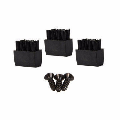 Arrow Brushes Faux Leather Universal 3x for Hostage Bow Pro Brush Screw 3pcs