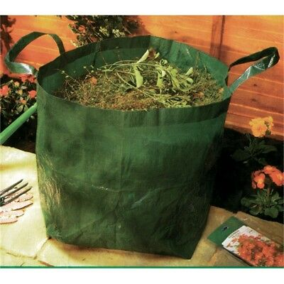 Small Pop Up Garden Tidy Bag - Refuse Strong Carry Rubbish Sack Heavy Duty