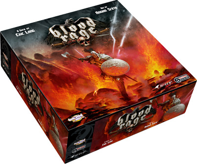 Board Games--Blood Rage Core Game