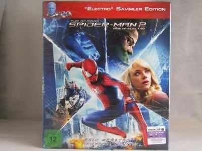 The Amazing Spider Man 2 - Sammler Edition - BluRay - Neu / OVP