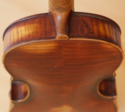 "Very old labelled Vintage violin ""Sabctus Seraphin"" fiddle 小提琴 скрипка Geige"