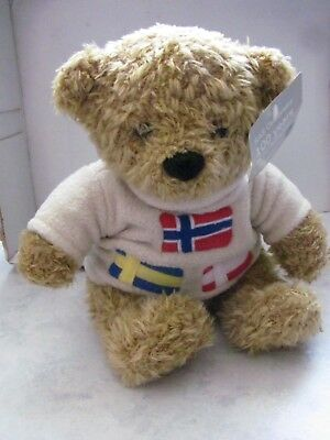 SAS AIRLINES Teddy Bear - Commemorating 100 Years of Teddy Bear (2002)