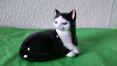 Just Cats & Co Black & White Cat figurine