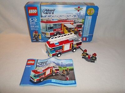 Lego 7207 City Fire Boat Complete Set Instructions Included