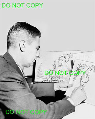 THEODOR SEUSS GEISEL - 8x10 Photo - GRINCH - DR. SEUSS