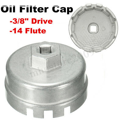 14 Flutes 64mm Oil Filter Cap Wrench Remover For Toyota Camry Corolla RAV4 Lexus