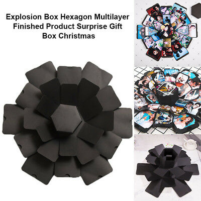 Explosion Box Multilayer Surprise DIY Photo Album For Birthday Christmas Gift