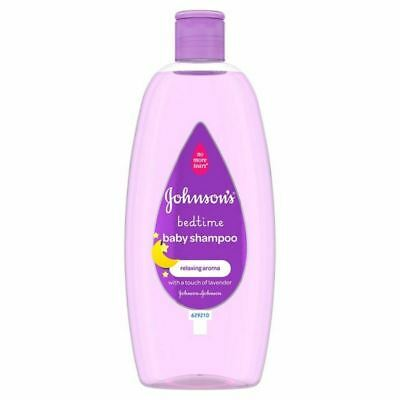 4x Johnson's Baby Bedtime Shampoo 500ml