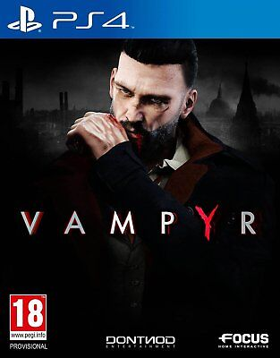 Vampyr (PS4)  BRAND NEW AND SEALED - IN STOCK - QUICK DISPATCH - FREE UK POSTAGE