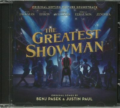 PASEK, Benj/JUSTIN PAUL/VARIOUS - The Greatest Showman (Soundtrack) - CD