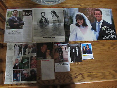 Maria Shriver French Us Clippings