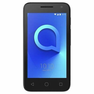 "Alcatel U3 2018 4"" Smartphone Quad-Core 4GB Android Black Unlocked Sim Free"