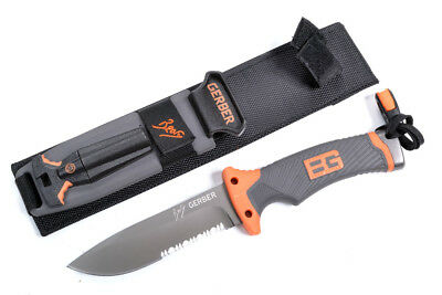 BG Camping Survival Knife with Hard Scabbard