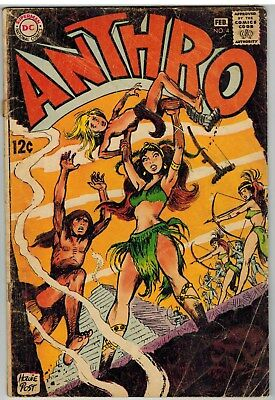Anthro #4 1969 Dc Silver Age!