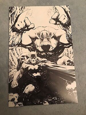 Batman/the Maxx #1 Sketch Jim Lee Variant New York Comic Con Exclusive Rare