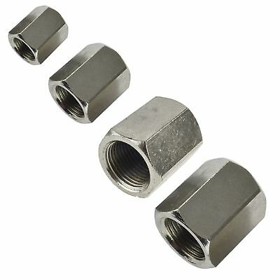"Female to Female Connector Sockets 1/8"" / 1/4"" / 3/8"" / 1/2"" Air Line Fitting"