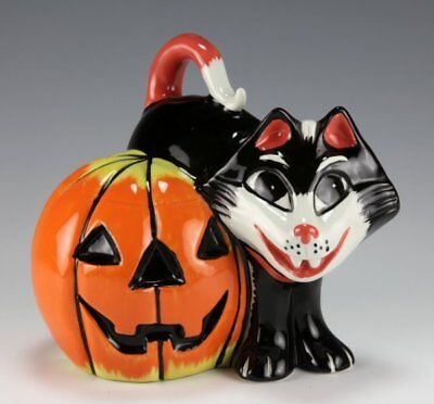 Lorna Bailey TOIL THE CAT LIMITED EDITION 7/50, FROM HALLOWEEN 2004 WITH COA