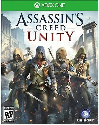 NEW Assassin's Creed: Unity - Xbox One video game English & French - UBP50400980