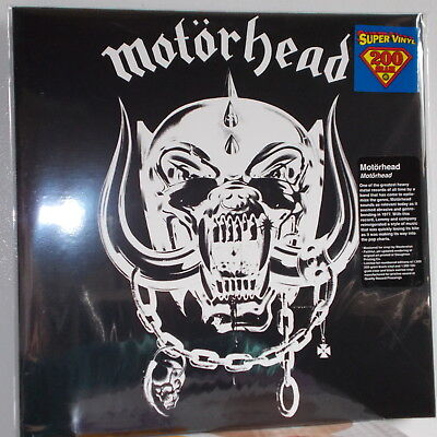 MOTORHEAD - S/T 1977 DEBUT UK HARD ROCK HEAVY METAL w/ LEMMY LTD. #'D EDTION LP